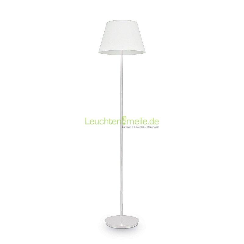 Stehleuchte Cylinder PT2 bianco von Ideallux, Leuchten & Lampen ...