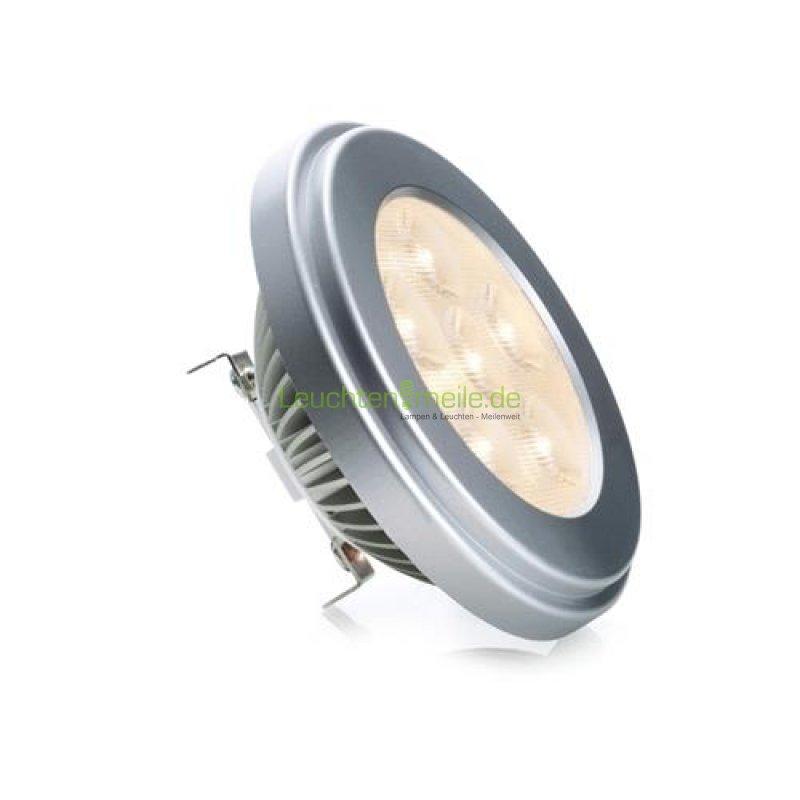 led leuchtmittel 10watt fassung ar111 oder g53 in silber von leuchten lampen g nstig online. Black Bedroom Furniture Sets. Home Design Ideas