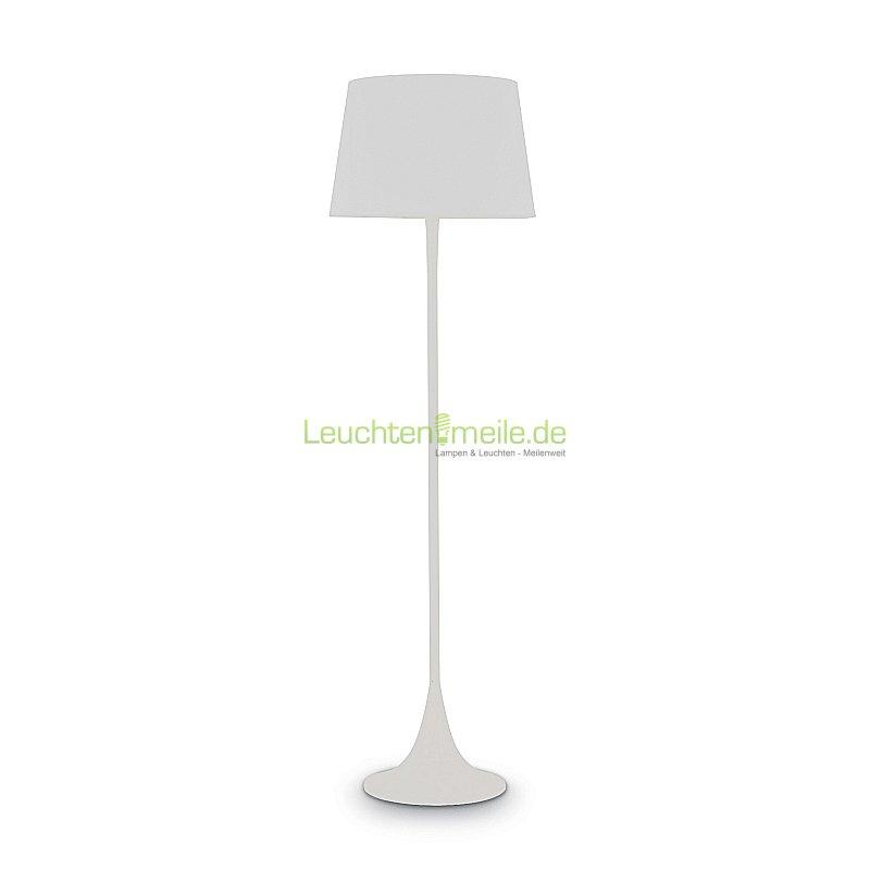Stehleuchte London PT1 bianco von Ideallux, Leuchten & Lampen ...